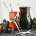 MOM Tip: Black Spider Party Punch for Halloween
