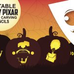 Free Disney-Pixar Pumpkin Carving Stencil Printables