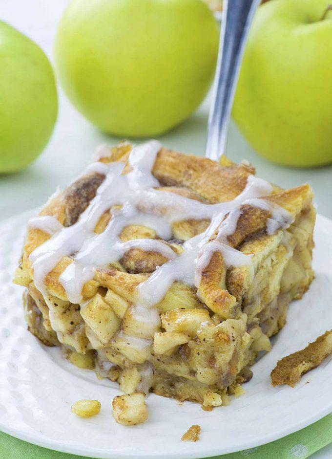 fall caramel apples desserts