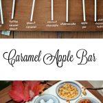 MOM Tip: DIY Caramel Apple Bar