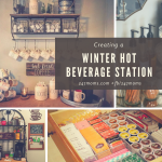 Creating a Winter Hot Beverage Station