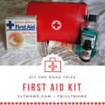 DIY First Aid Kit for the Road