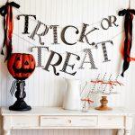 Free Trick or Treat Halloween Banner Printable
