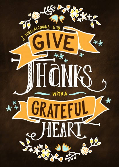 Lucrative image regarding give thanks printable