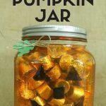 MOM Tip: How to Make a Painted Glass Pumpkin Jar