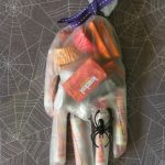 MOM Tip: Halloween Hand Treats