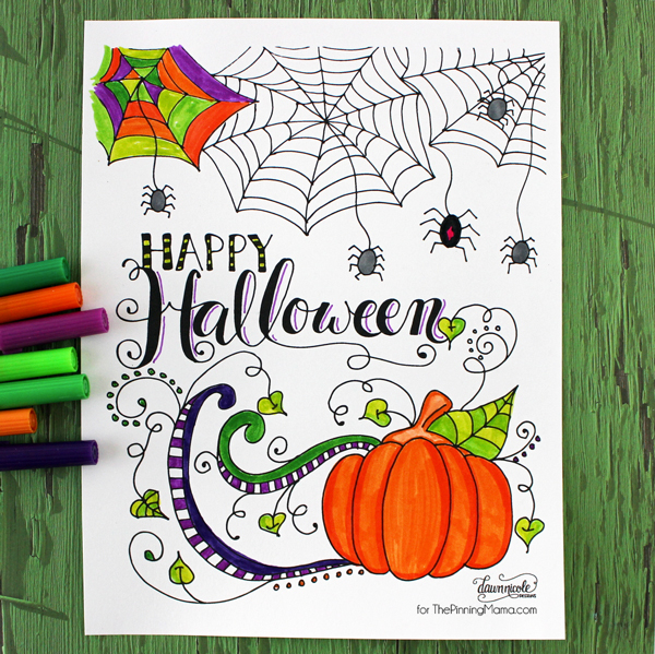 20 free halloween printables