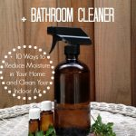MOM Tip: DIY Homemade Anti-Mold Spray & Bathroom Cleaner