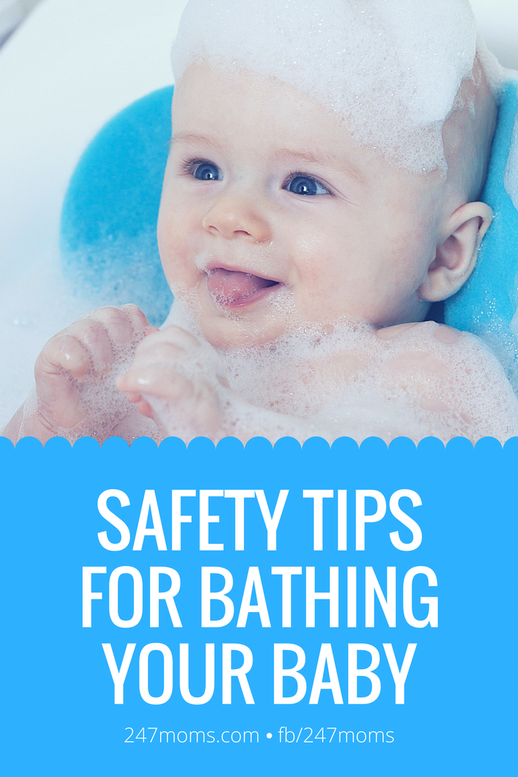 Safety Tips for Bathing Your Baby - 24/7 Moms