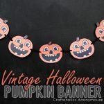 Free Vintage Halloween Banner Printable