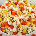 Fall Candy Corn Popcorn