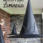MOM Tip: DIY Floating Witch Hat Luminaries