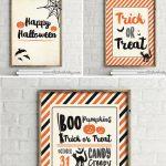 Free 8×10 Halloween Printables