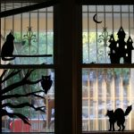 Free Halloween Window Silhouette Printables