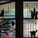 Free Halloween Window Silhouette Printables