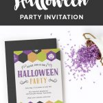 Free Halloween Party Invitation Printable