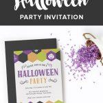 Free Halloween Party Invitation Printable