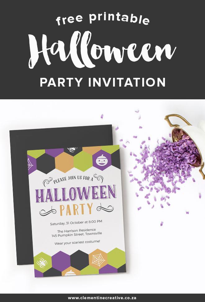 free halloween party invitation printable 24 7 moms