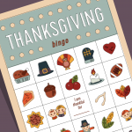 Thanksgiving Bingo Printables for Kids and Adults