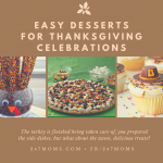 Easy Desserts for Thanksgiving Celebrations