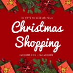 10 Ways to Save on Your Christmas Shopping