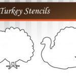 Free Turkey Stencil Printable