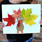 MOM Tip: Leaf Turkey Craft for Kids