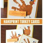MOM Tip: Handprint Turkey Cards