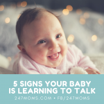 5 Signs Your Baby is Learning to Talk