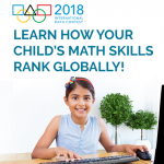 Register for the International Math Contest and learn where your child's math knowledge ranks globally