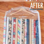 MOM Tip: Wrapping Paper Storage