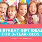Birthday Gift Ideas for 3-Year-Olds