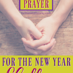 31 Days of Prayer for the New Year