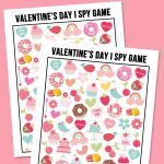 FREE I Spy Valentine's Day Game Printable