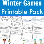 Free Winter Games Printable Pack