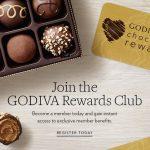FREE Godiva Chocolate