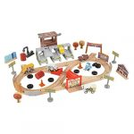 MOM Deal: KIDKRAFT Disney Pixar Cars 3 Thunder Hollow 50 Piece Wooden Track Set $31.99