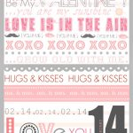 Free Valentine Subway Art Printable