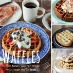 10 Fun Foods You Can Make in Your Waffle Iron
