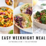 5 Easy Weeknight Meals: 02/25/2018