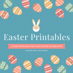 12 FREE Printables For Your Easter Celebration