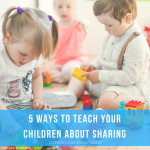 5 Ways to Teach Your Children About Sharing