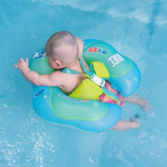 Mom Deal Baby Inflatable Swimming Float Ring By Free Swimming Baby 24 7 Moms