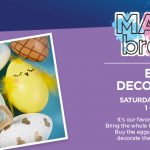FREE Egg Decorating at Michaels, March 24, 1-3pm