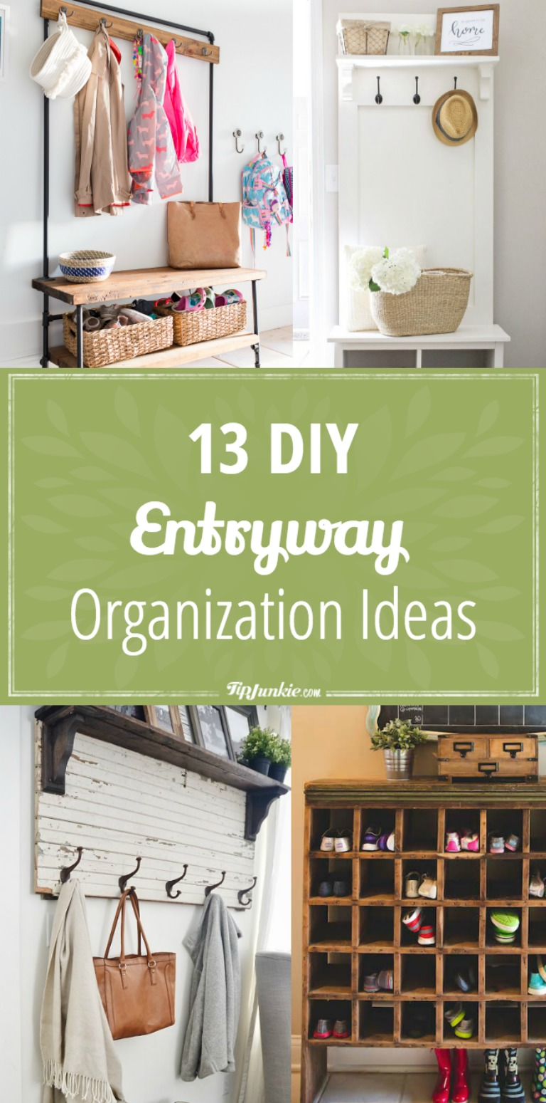 Foyer Diy Kit : Diy entryway organization ideas moms