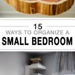 15 Ways to Organize a Small Bedroom