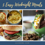 5 Easy Weeknight Meals: 04/29/2018