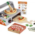 MOM Deal: Melissa & Doug Top and Bake Wooden Pizza Counter Play Food Set $26.75