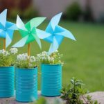 Pinwheel Earth Day Craft
