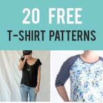 20 Free T-Shirt Patterns You Can Print + Sew at Home